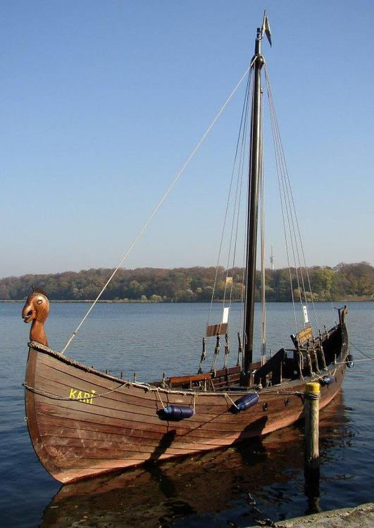 Drakar, viking ship