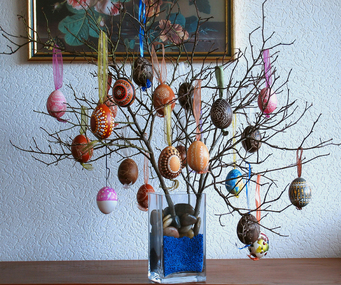 Photo Easter tree