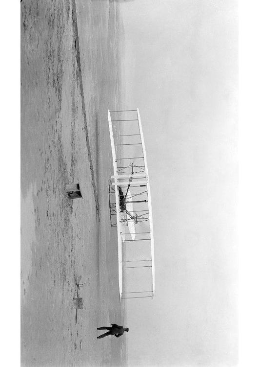 first flight Wright brothers