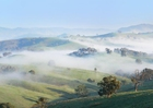Photo foggy morning