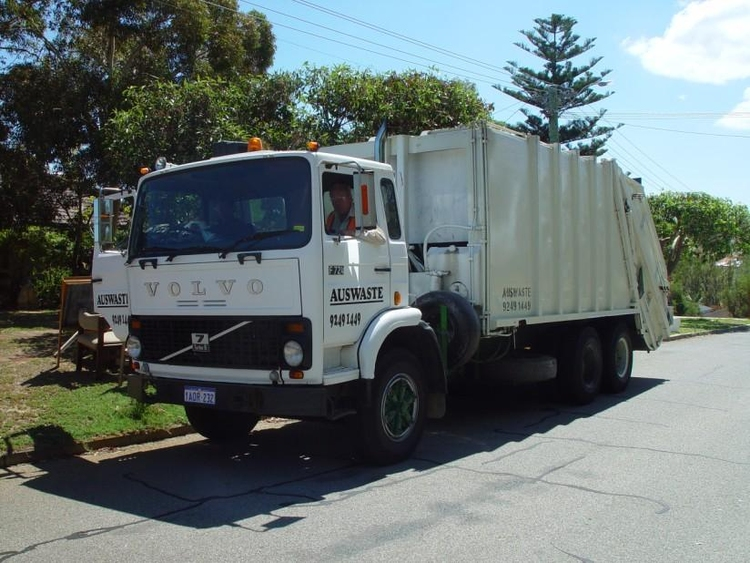 Photo garbage truck