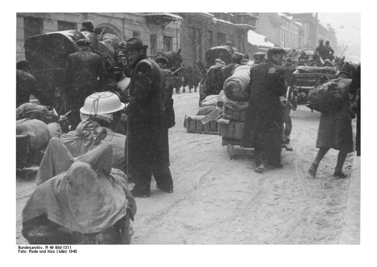 Photo Ghetto Litzmannstad - Deportation