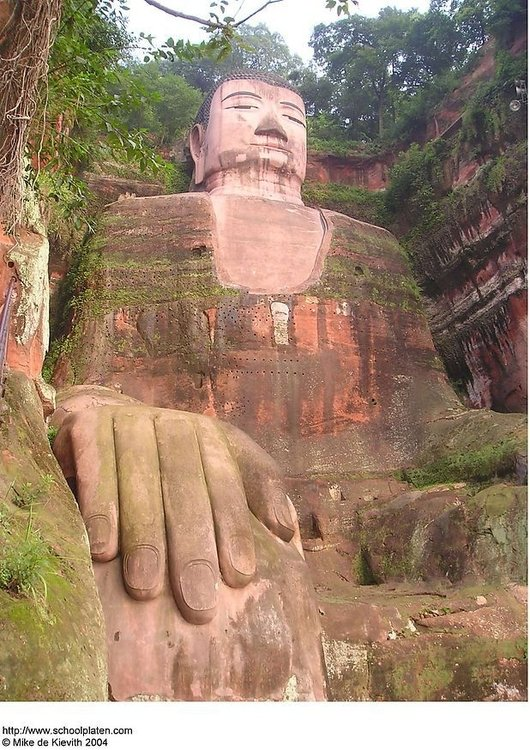 Photo Giant Buddha in Leshan