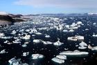 Photo Glacier and Iceberg