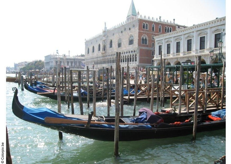 Photo gondalas on San Marco