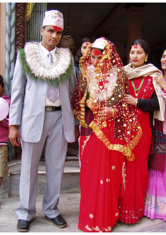 Photo Hindu wedding in Nepal
