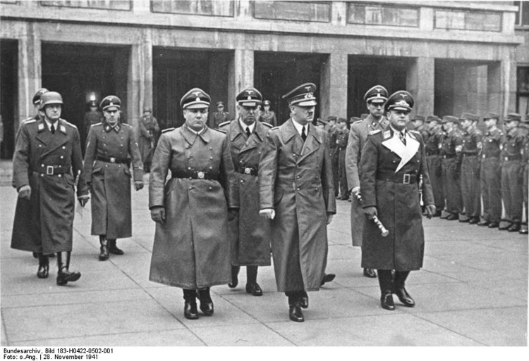 Photo Hitler in Berlin