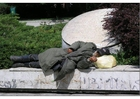 Photo homeless in Sarejevo