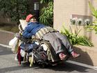 Photo Homeless man, Tokyo, 2008