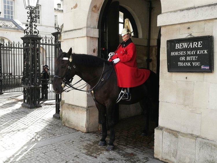 Photo Household cavalry London