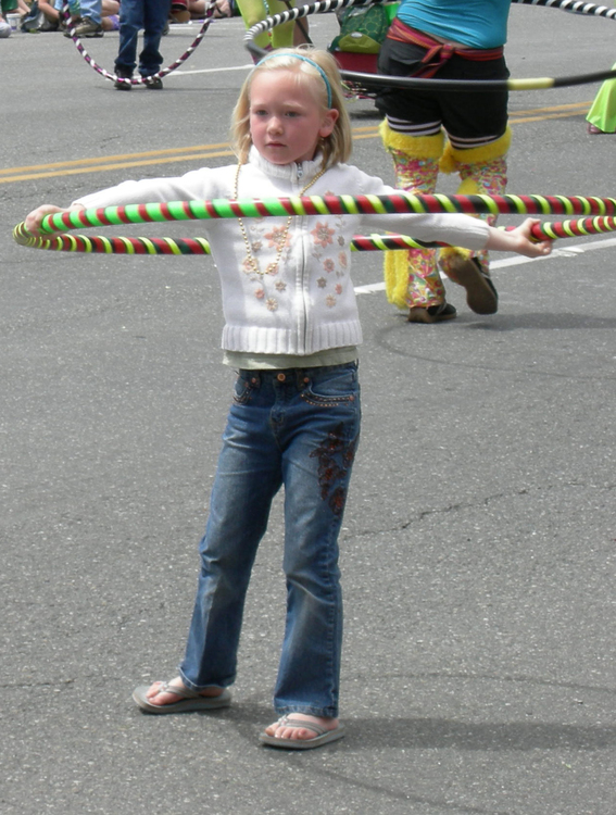 Photo hula hooping