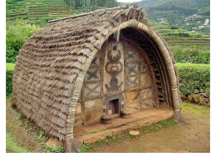 Photo Indian hut