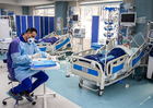 Photos Intensive care in hospital in Iran