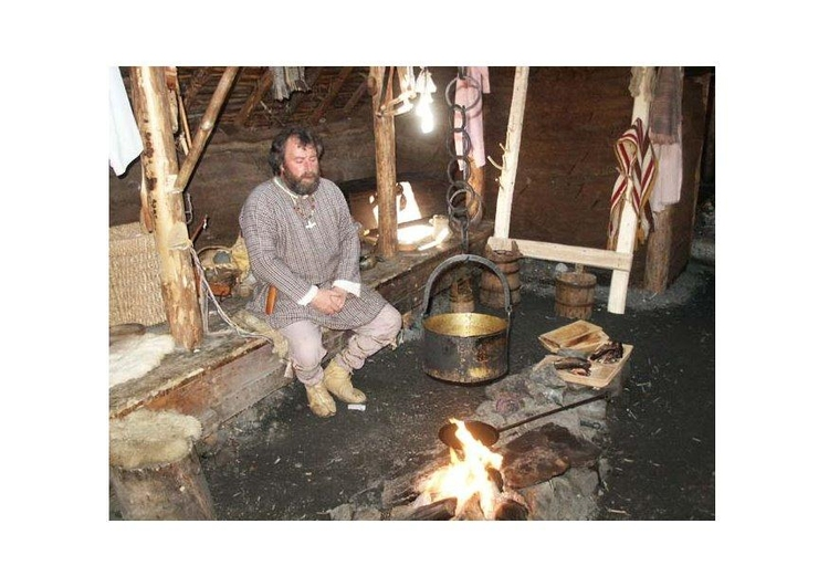 Photo interior of viking house