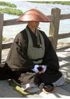 Photo Japanese buddhist monk