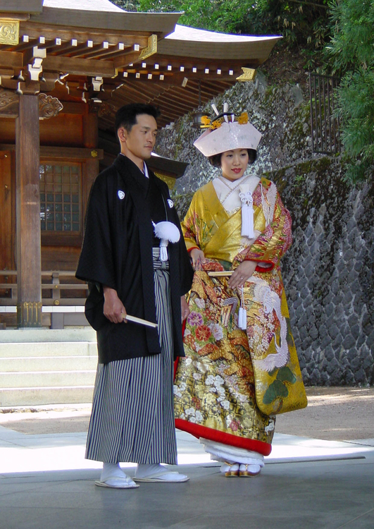 Photo Japanese wedding, Shinto ceremony