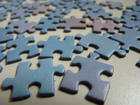Photo jigsaw pieces