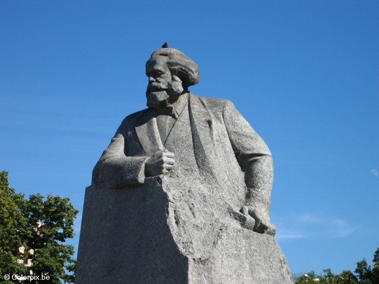 Photo Karl Marx statue