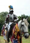 Photo knight on a horse 2