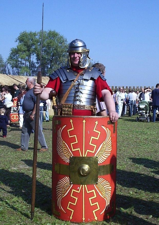 Photo Legionaire- roman soldier