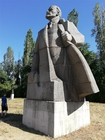 Photo Lenin Sofia statue