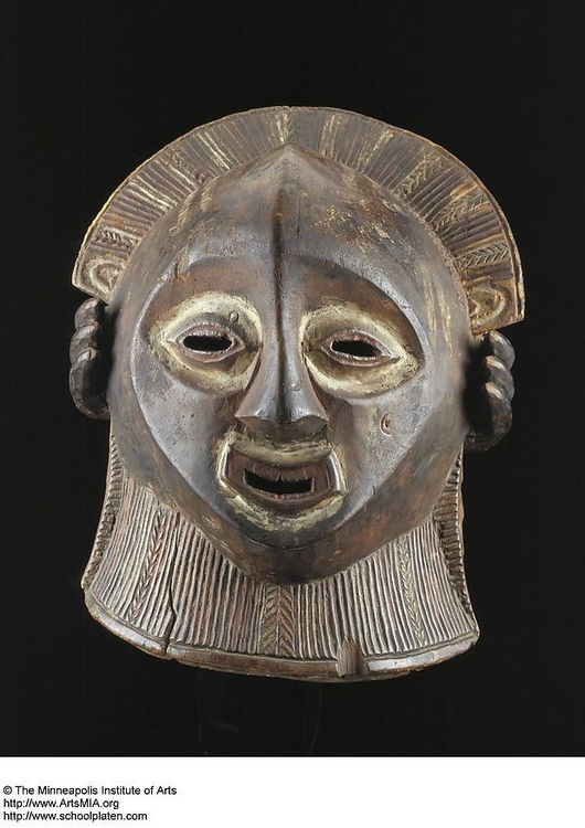 Photo Luba Mask Congo