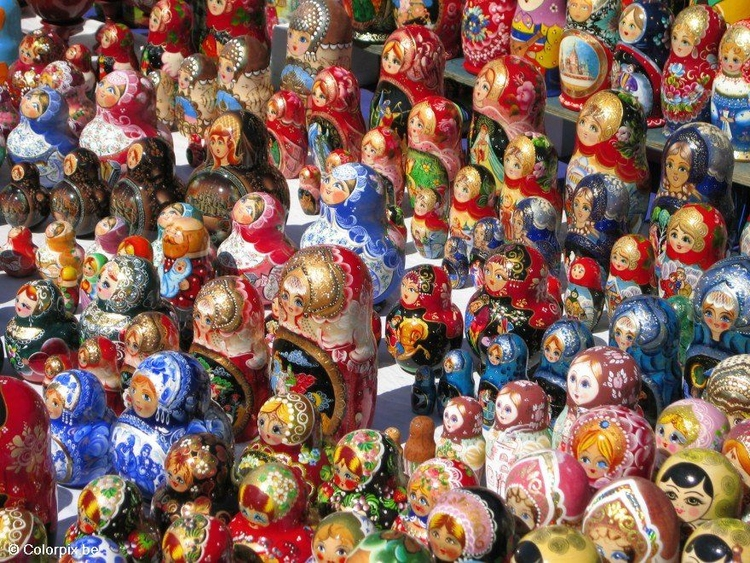 Photo Matrioshka puppets