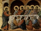 Image Maundy Thursday - last supper