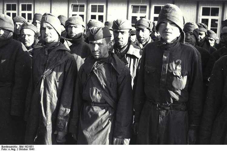 Photo Mauthause concentration camp - Russian captured soldiers