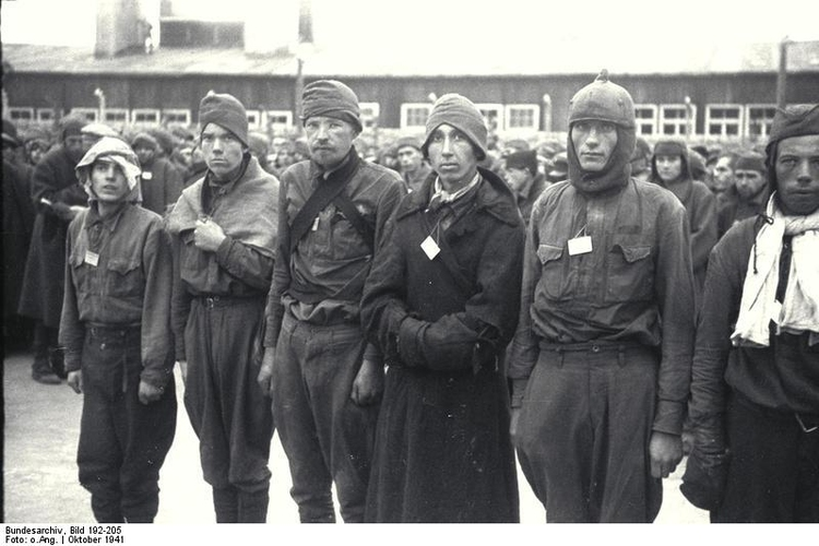 Photo Mauthausen concentration camp - Russian Prisoners of War (3)