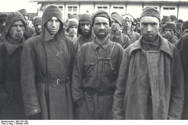 Photo Mauthausen concentration camp - Russian Prisoners of War