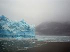 Photo melting glacier