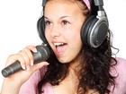 Photo microphone and headphone