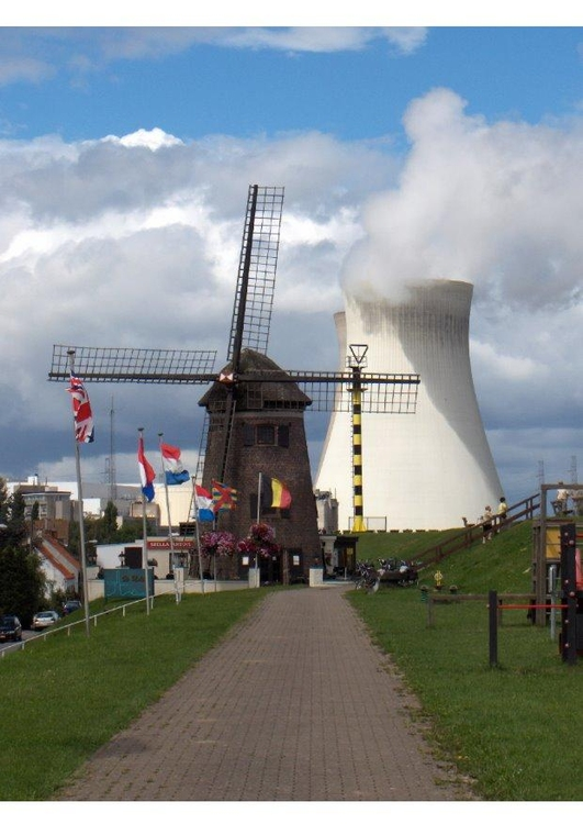 Photo mill - nuclear power plant
