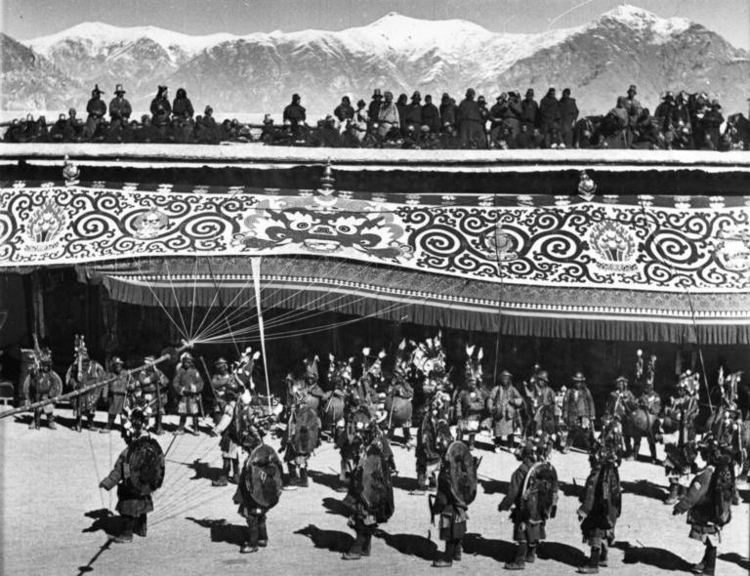 Photo New Year in Tibet 1938