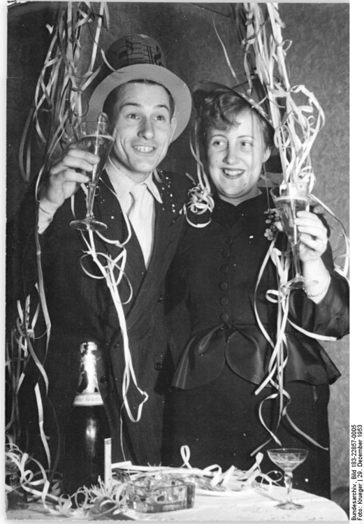 Photo New Years Eve 1953