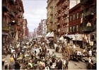 Photo New York - Mulberry Street 1900