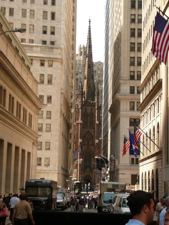 New York - Wall street