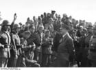 Photo Oste - Hitler visiting his troops
