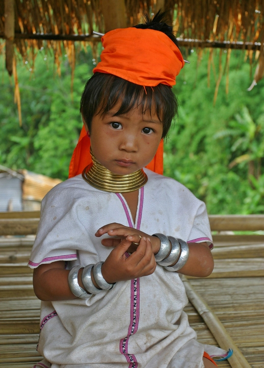 Photo Padaung girl