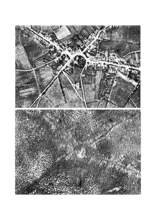 Photo Passchendaele- before and after