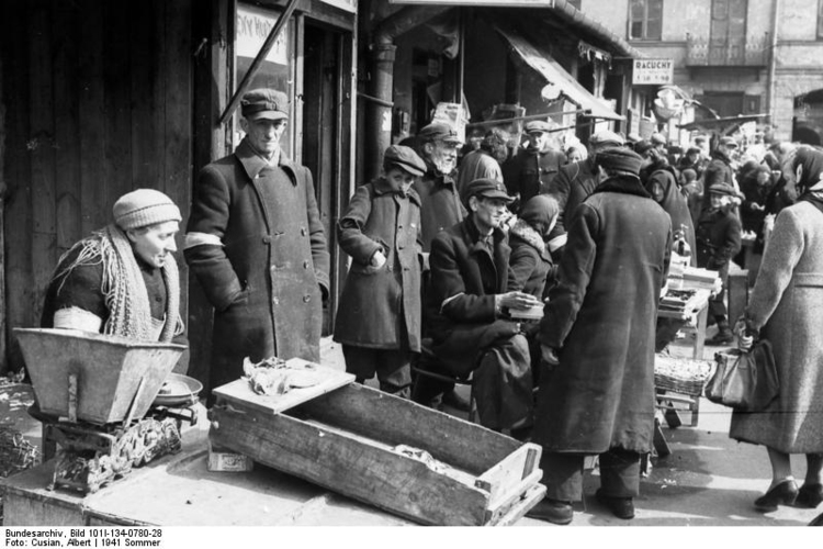 Photo Poland - Ghetto Warsaw - Market Place (2)