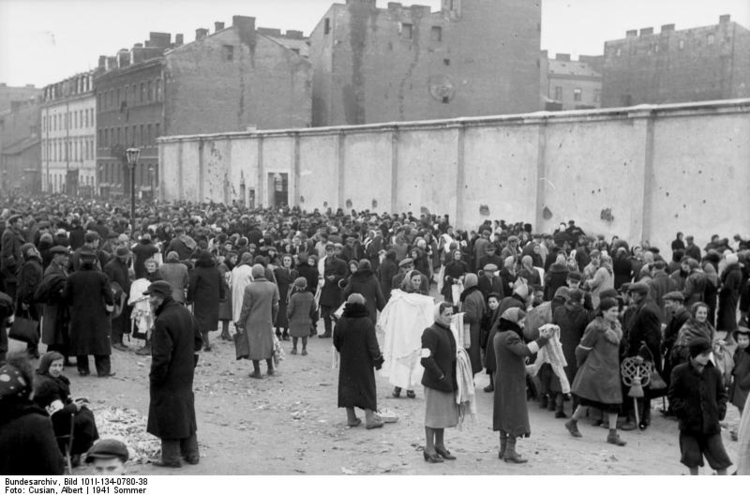 Photo Poland - Ghetto Warsaw - Market Place