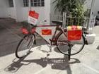 Photo post bicycle