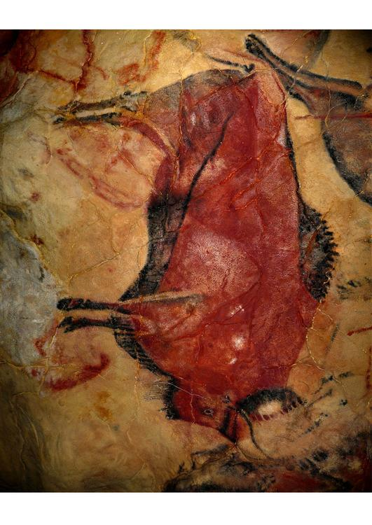 pre-historic painting - bison