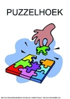 Image puzzle corner