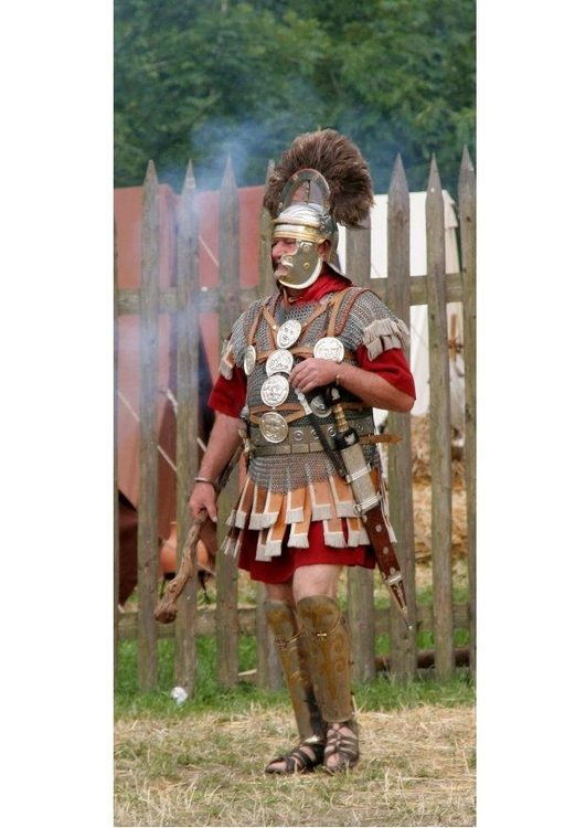 Photo roman officer