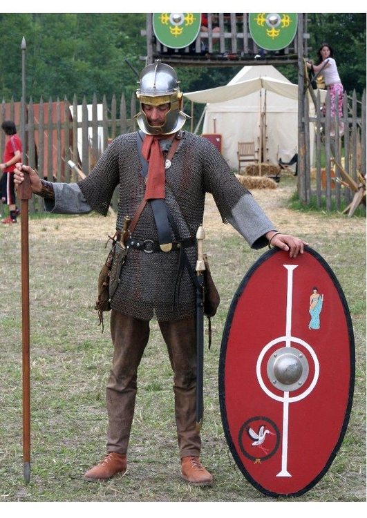 Photo roman soldier around 175 a.c.