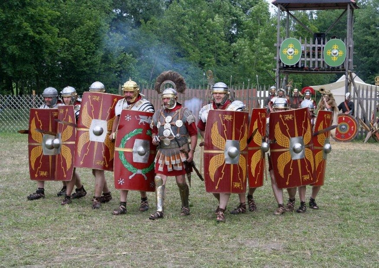 Photo roman soldier around 70 a.c.