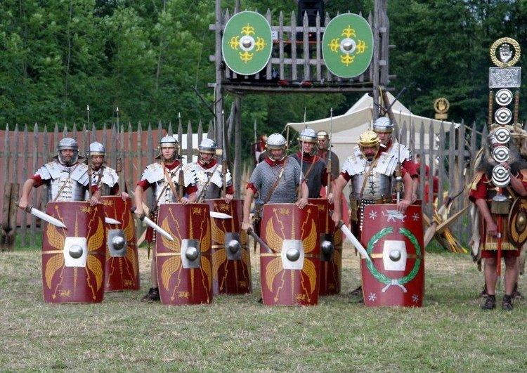 Photo roman soldiers around 70 a.c.